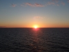 Sonnenuntergang Fähre Travemünde - Helsinki