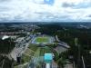 Aussicht vom Schanzenturm Lahti
