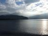 Am Morgen auf dem Gardasee