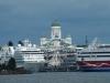 Helsinki vom Boot aus