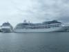 Kreuzfahrtschiffe bei Warnemünde