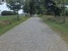 Strasse westlich von Greifswald