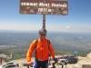 Gipfelfoto auf dem Mont Ventoux