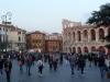 Piazza Bra und Arena di Verona