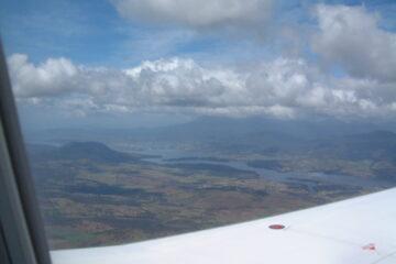 Flug nach Tasmanien