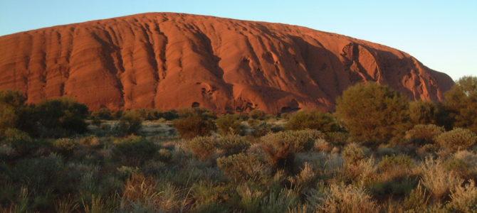 Besteigung des Uluru