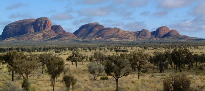 Unter freiem Himmel im Outback