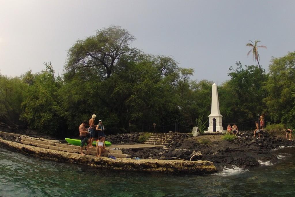 Captain Cook Denkmal