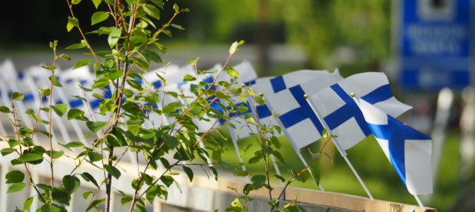 Fahrt an die Ostgrenze Finnlands